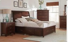 4pc Ca King Bed Set