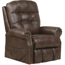Pwr Lift Lay Flat Recliner w/ Heat & Massage - Sable