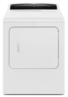 7.0 cu.ft Top Load HE Electric Dryer with Advanced Moisture Sensing, Intuitive Touch Controls