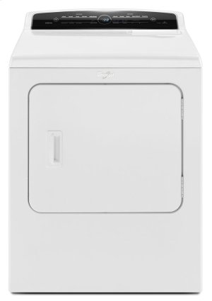 7 0 cu ft Top Load HE Electric Dryer with Advanced Moisture Sensing,  Intuitive Touch Controls