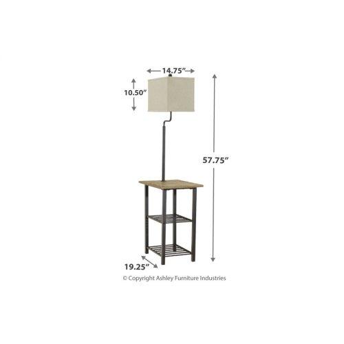 Metal Tray Lamp (1/cn)