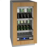 """u-line5 Class 18"""" Refrigerator With Integrated Frame Finish and Field Reversible Door Swing (115 Volts / 60 Hz)"""