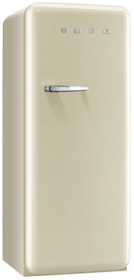50'S Style Refrigerator with ice compartment, Cream, Right hand hinge