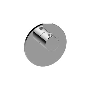 M-Series Round Thermostatic Valve Trim Plate and Handle