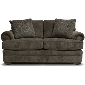 ENGLAND FURNITURE Knox Loveseat With Nails 6m06n