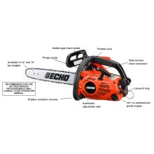 ECHO CS-303T 30.1cc Top Handle Chain Saw