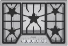 30-Inch Masterpiece® Gas Cooktop SGS305FS Product Image