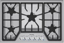 30-Inch Masterpiece® Gas Cooktop SGS305FS