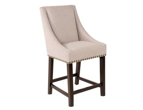 "Jolie Upholstered Bar Chair 21""x24""x47"" [1/2"" Memory foam]"