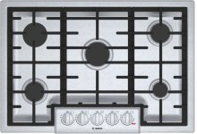 "800 Series 30"" 5 Burner Gas Cooktop, NGM8056UC, Stainless Steel"