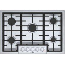 """800 Series 30"""" 5 Burner Gas Cooktop, NGM8056UC, Stainless Steel"""