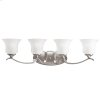 Wedgeport Collection Wedgeport 4 Light Bath Light in Brushed Nickel