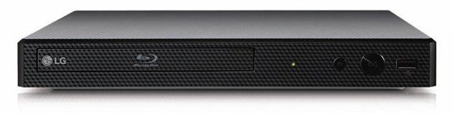 Blu-ray Disc Player with Streaming Services  BLACK