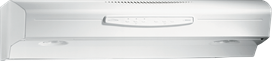 "30"", White-on-White, Under Cabinet Range Hood, 300 CFM"