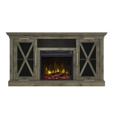 Shelter Cove TV Stand with Electric Fireplace