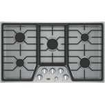"""36"""" Built-In Gas Cooktop With 5 Burners"""