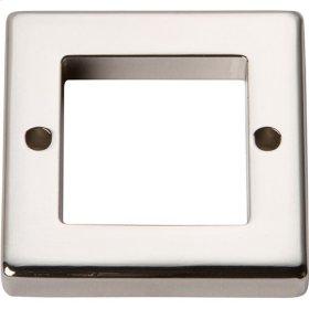 Tableau Square Base 1 7/16 Inch - Polished Nickel