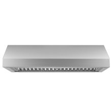 "Heritage 36"" Pro Wall Hood, 18"" High, Silver Stainless Steel"
