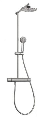 "Tekno 1/2"" thermostatic shower column"