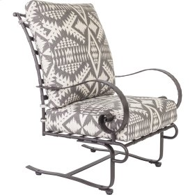 Classico High-back Spring Base Lounge Chair