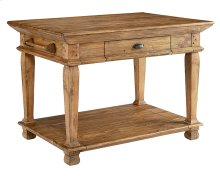 Swedish Farm Kitchen Island