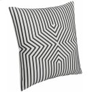 """Luxe Pillows Embroidered Graphic Lines (23"""" x 23"""") Product Image"""
