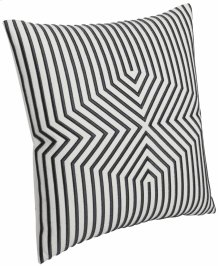 """Luxe Pillows Embroidered Graphic Lines (23"""" x 23"""")"""