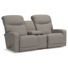 Levi Reclina-Way® Full Reclining Loveseat w/ Console