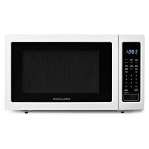 Kitchenaid 1200-Watt Countertop Microwave Oven - White