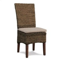Mix-N-Match Woven SIde Chair Hazelnut finish