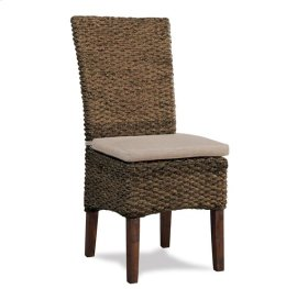 Mix-N-Match Woven SIde Chair Hazelnut finish