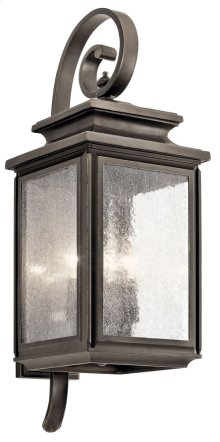 "Wiscombe Park 26.25"" 4 Light Wall Light Olde Bronze®"