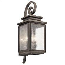 "Wiscombe Park 26.25"" 4 Light Wall Light Olde Bronze®"