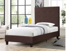 7566 Brown Twin Bed