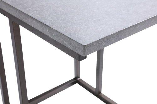 Emerald Home Stoneworks Laptop Table-concrete-metal-natural Stone T517-07