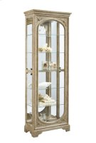 Julian Carved Mirrored Curio Product Image