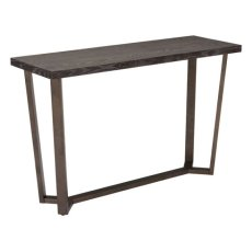 Brooklyn Console Table Gray Oak &a.brass Product Image