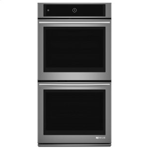 "JENN-AIREuro-Style 27"" Double Wall Oven with Upper MultiMode(R) Convection System"
