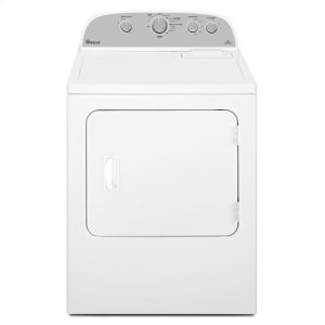 5.9 cu. ft. Top Load Electric Dryer with Flat Back Design -