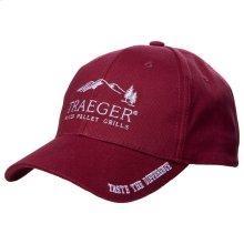 Medium Profile Hat - Red
