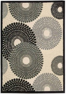 Graphic Illusions Gil04 Parch Rectangle Rug 5'3'' X 7'5''