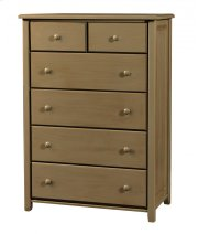 Pine 6 Drawer Chest Product Image