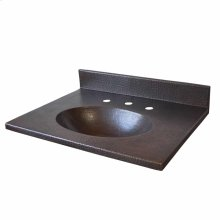 "24"" Sedona Vanity Top Bathroom Sink"