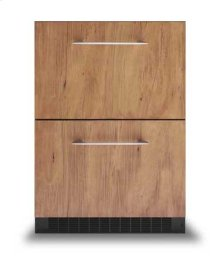"""24"""" Custom Front Refrigerated Drawers - DFRD (Custom Front model)"""