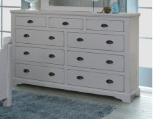 Bedroom HH-4270 Collection - 9 Drawer Dresser - Sunset Trading