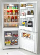 Bottom Mount Frost Free Freezer / Refrigerator Product Image