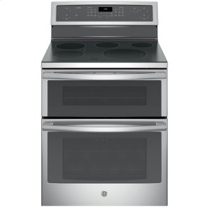 """GE Profile30"""" Free-Standing Electric Double Oven Convection Range"""
