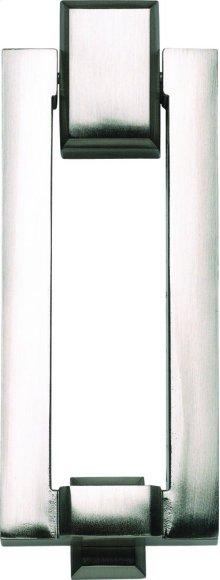 Mission Door Knocker - Brushed Nickel