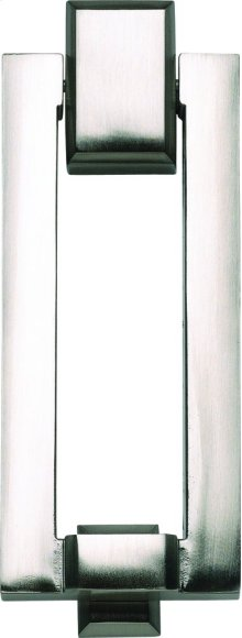 Mission Door Knocker - Brushed Nickel