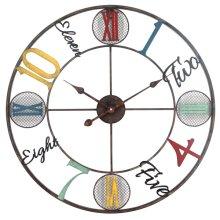 Whimsical Design Wall Clock